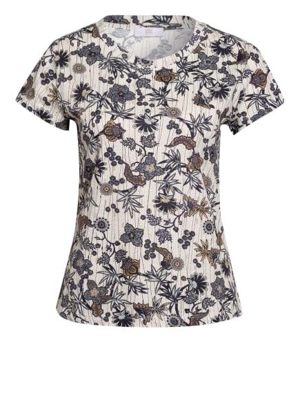 RIANI T-Shirt, Farbe: WEISS/ DUNKELBLAU/ BEIGE (Bild 1)