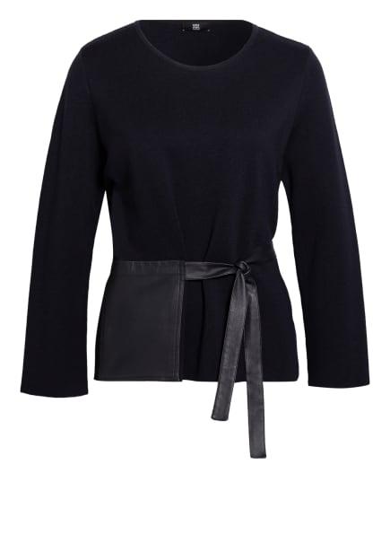 RIANI Pullover aus Merinowolle, Farbe: DUNKELBLAU (Bild 1)