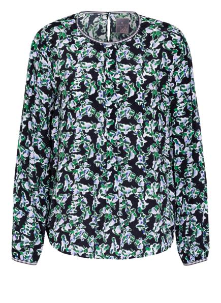 LIEBLINGSSTÜCK Blusenshirt, Farbe: DUNKELBLAU/ GRÜN/ HELLLILA (Bild 1)
