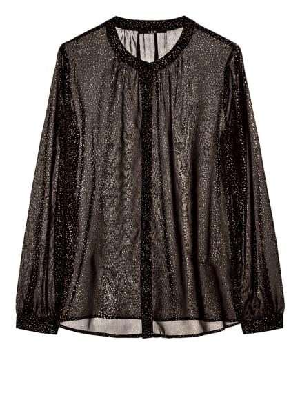 SET Bluse, Farbe: SCHWARZ/ GOLD (Bild 1)