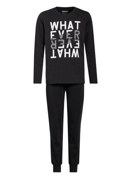 Sanetta Schlafanzug, Farbe: SCHWARZ (Bild 1)