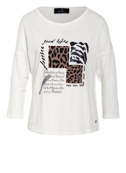 monari Shirt mit Schmucksteinbesatz, Farbe: WEISS/ CAMEL/ SCHWARZ (Bild 1)