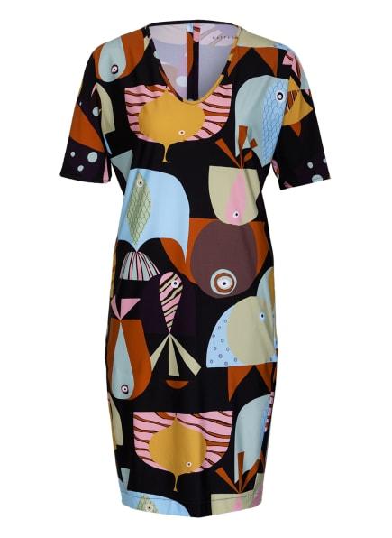 RAFFAELLO ROSSI Kleid LEXI, Farbe: SCHWARZ/ HELLBLAU/ ROSA (Bild 1)
