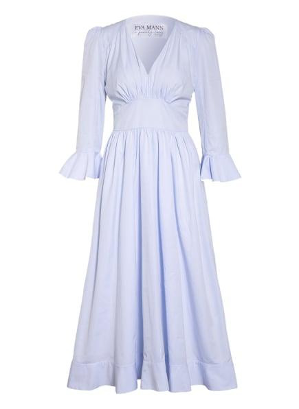 EVA MANN Kleid LISBETH WINSTON mit 3/4-Arm , Farbe: HELLBLAU (Bild 1)