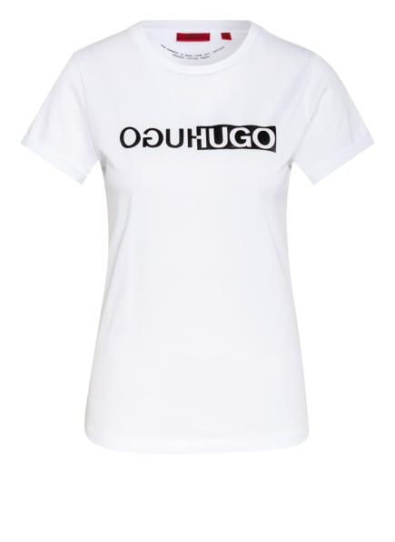 HUGO T-Shirt THE SLIM TEE, Farbe: WEISS (Bild 1)