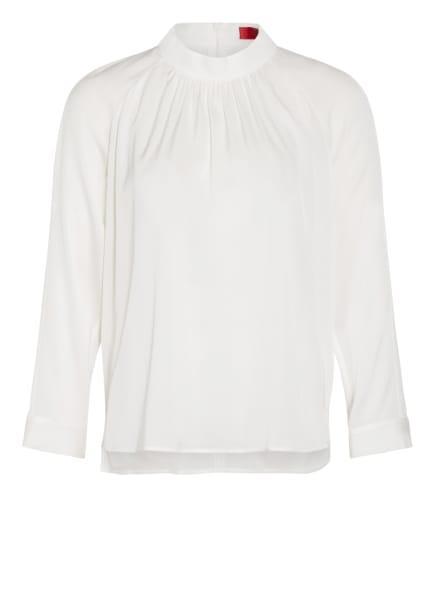HUGO Blusenshirt CAJOSI aus Seide, Farbe: WEISS (Bild 1)