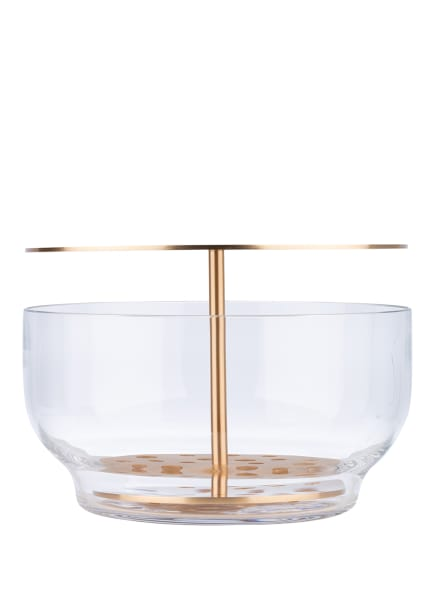 FRITZ HANSEN Vase IKEBANA LARGE, Farbe: GOLD (Bild 1)