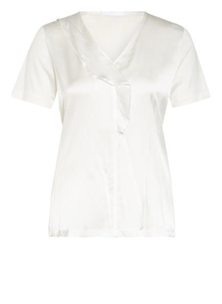 BOSS Blusenshirt EFRONA im Materialmix, Farbe: WEISS (Bild 1)