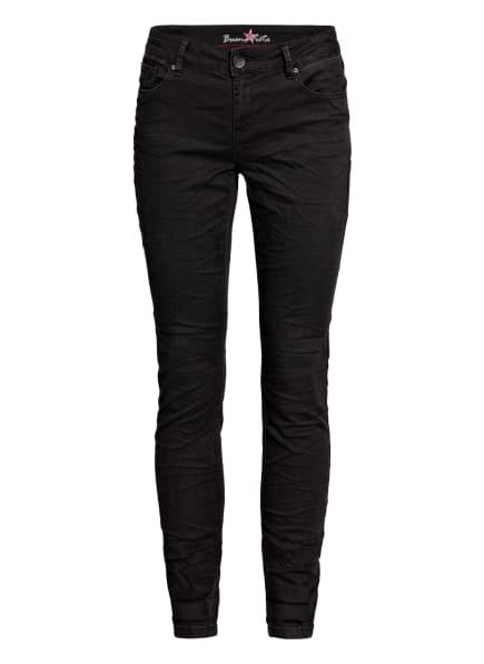 Buena Vista Skinny Jeans ITALY, Farbe: 014 BLACK (Bild 1)