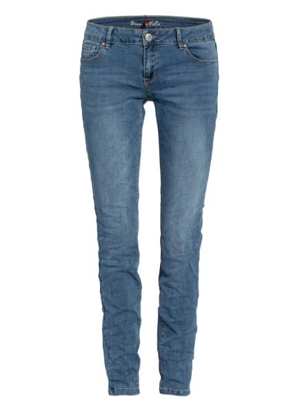 Buena Vista Skinny Jeans ITALY, Farbe: 2873 light stone (Bild 1)