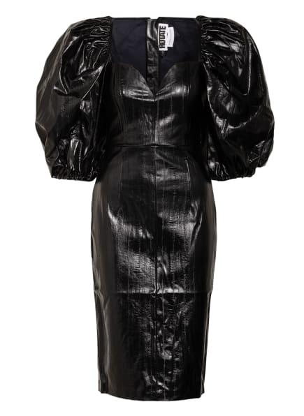 ROTATE BIRGER CHRISTENSEN Kleid IRINA in Lederoptik, Farbe: SCHWARZ (Bild 1)