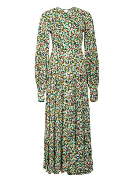 ROTATE BIRGER CHRISTENSEN Kleid MARY, Farbe: SCHWARZ/ HELLGRÜN/ PINK (Bild 1)