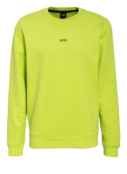 BOSS Sweatshirt WEEVO, Farbe: NEONGELB (Bild 1)
