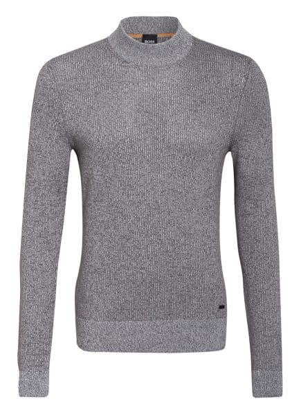 BOSS Pullover KOUSENO, Farbe: GRAU/ HELLGRAU/ KHAKI (Bild 1)
