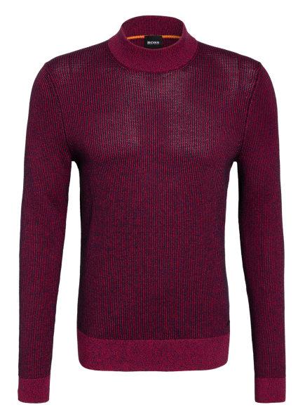 BOSS Pullover KOUSENO, Farbe: DUNKELBLAU/ FUCHSIA (Bild 1)