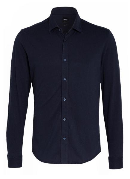 BOSS Hemd MYPOP Slim Fit, Farbe: DUNKELBLAU (Bild 1)