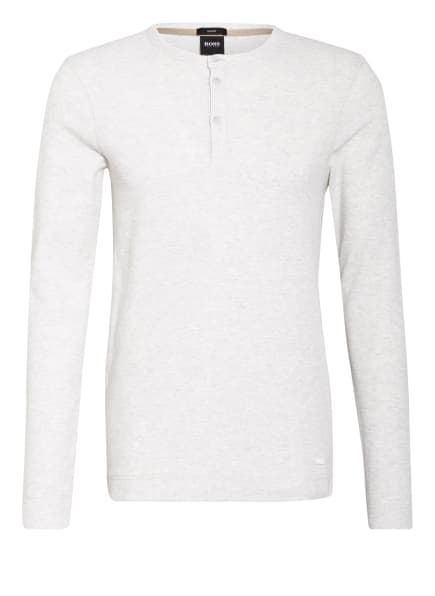 BOSS Henley-Shirt TRIX, Farbe: CREME/ HELLGRAU (Bild 1)
