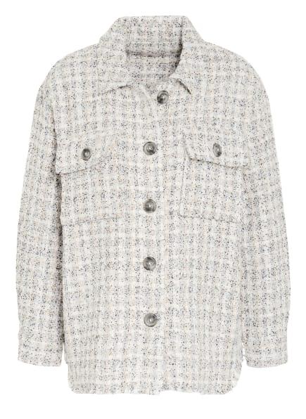 Mrs & HUGS Overshirt aus Tweed, Farbe: SCHWARZ/ WEISS/ BEIGE (Bild 1)