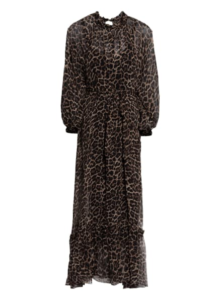 Mrs & HUGS Kleid , Farbe: DUNKELBRAUN/ BEIGE (Bild 1)