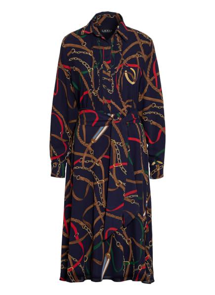 LAUREN RALPH LAUREN Kleid , Farbe: DUNKELBLAU/ BRAUN/ ROT (Bild 1)