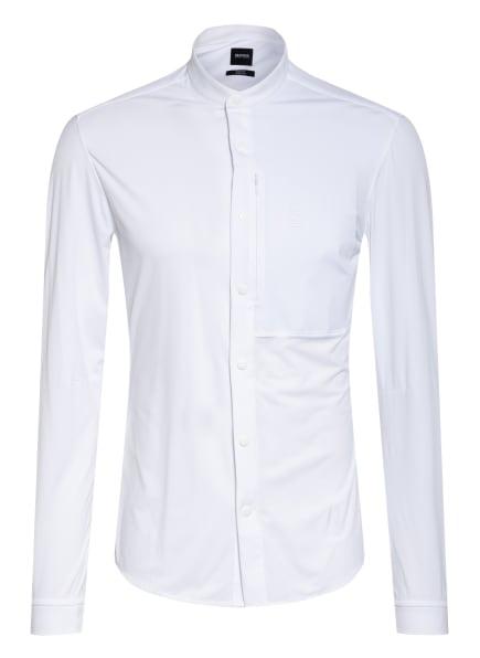 BOSS Hemd BONAVENTURA Slim Fit mit Stehkragen, Farbe: WEISS (Bild 1)