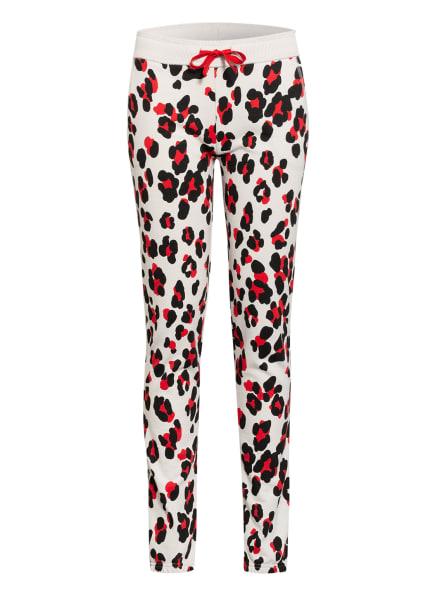 Juvia Sweatpants, Farbe: ECRU/ SCHWARZ/ ROT (Bild 1)