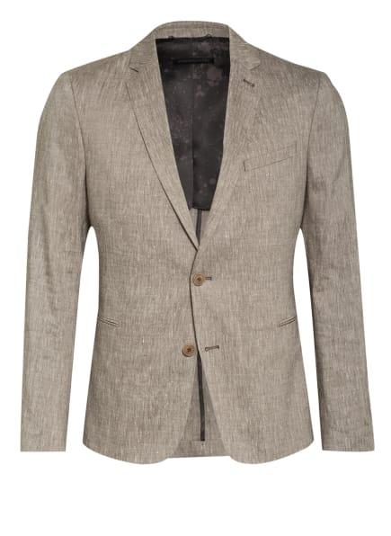 DRYKORN Anzugsakko HURLEY Extra Slim Fit mit Leinen, Farbe: 1400 braun (Bild 1)