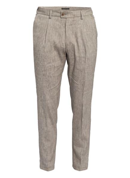 DRYKORN Anzughose CARE Extra Slim Fit mit Leinen, Farbe: 1400 braun (Bild 1)