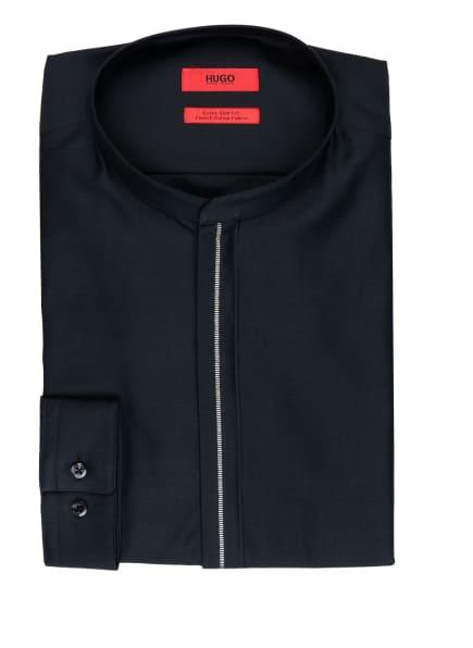 HUGO Hemd ENRIQUE Extra Slim Fit mit Stehkragen, Farbe: SCHWARZ (Bild 1)