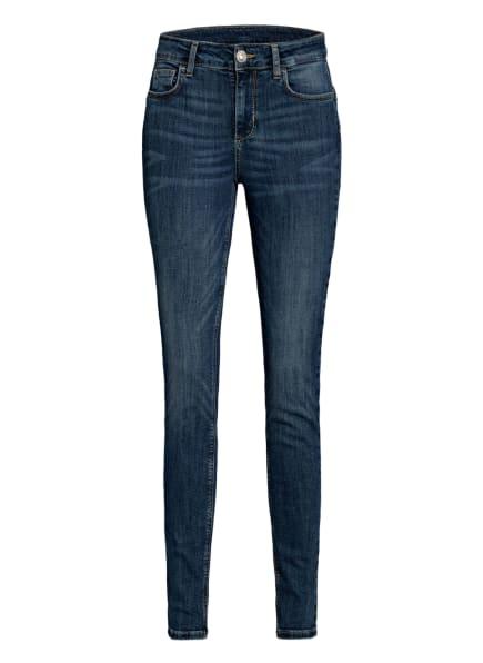 LIU JO Skinny Jeans DIVINE mit Schmucksteinbesatz , Farbe: 77411 Dem.Blue event wash (Bild 1)