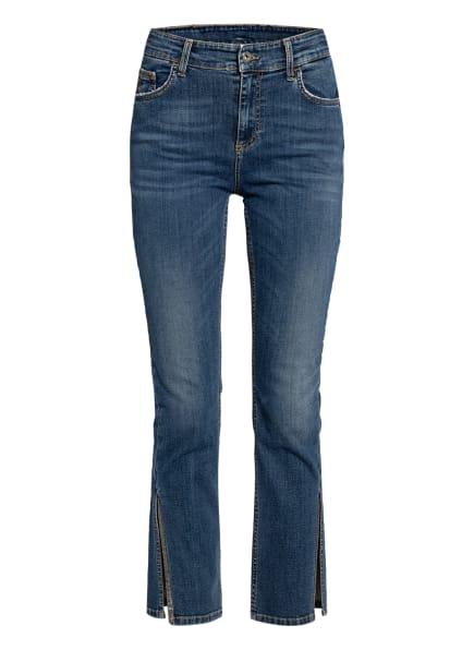 LIU JO 7/8-Jeans mit Schmucksteinbesatz , Farbe: 78173 Den.Blue isa wash (Bild 1)