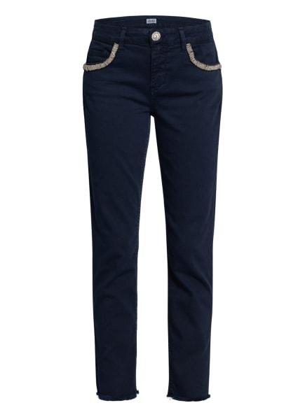 LIU JO Skinny Jeans IDEAL mit Schmucksteinbesatz , Farbe: T9812 Night applicazioni (Bild 1)