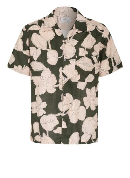 CLOSED Resorthemd Comfort Fit, Farbe: GRÜN/ CREME (Bild 1)