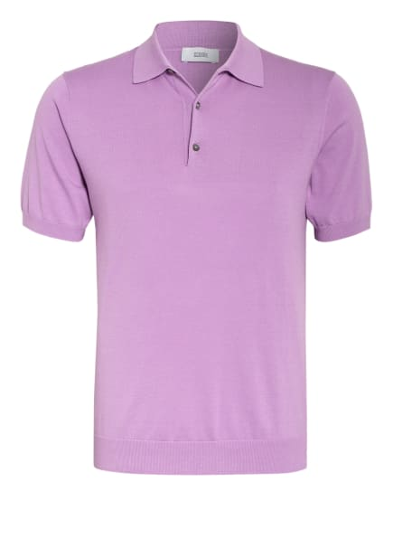 CLOSED Strick-Poloshirt, Farbe: HELLLILA (Bild 1)