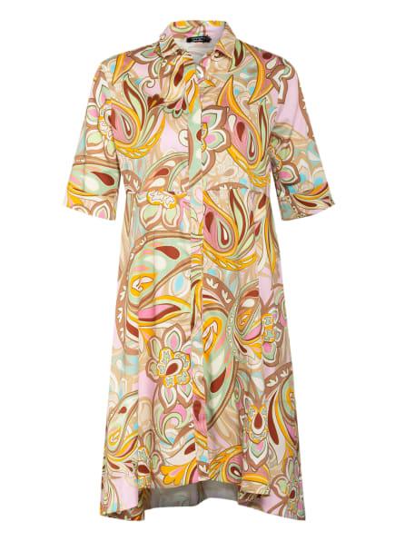 ANNA's Hemdblusenkleid, Farbe: MINT/ ORANGE/ CAMEL (Bild 1)