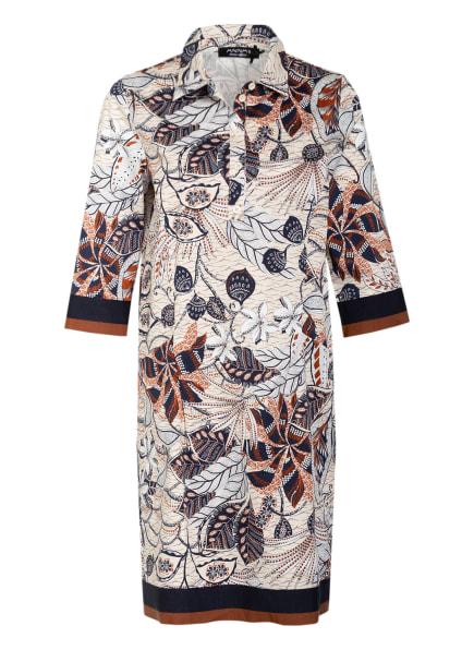 ANNA's Kleid, Farbe: CREME/ DUNKELBLAU/ COGNAC (Bild 1)