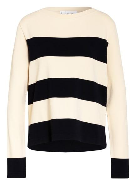 SEM PER LEI Pullover, Farbe: CREME/ DUNKELBLAU (Bild 1)