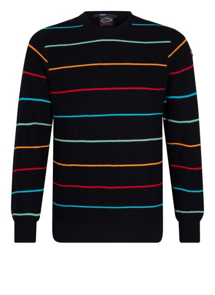 PAUL & SHARK Pullover, Farbe: DUNKELBLAU/ ORANGE/ HELLGRÜN (Bild 1)