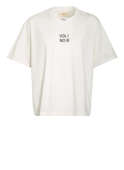PREACH Oversized-Shirt, Farbe: WEISS/ SCHWARZ (Bild 1)