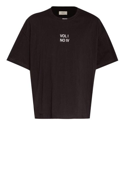 PREACH Oversized-Shirt, Farbe: SCHWARZ/ WEISS (Bild 1)