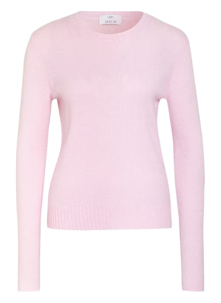 ALLUDE Cashmere-Pullover, Farbe: ROSA (Bild 1)