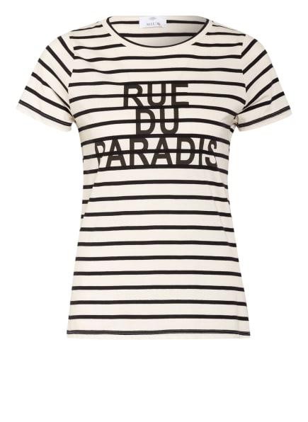 ALLUDE T-Shirt, Farbe: ECRU/ SCHWARZ (Bild 1)