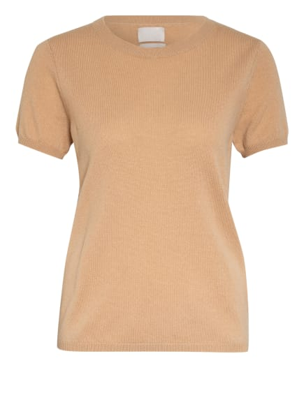 Mrs & HUGS Strickshirt aus Cashmere , Farbe: BEIGE (Bild 1)