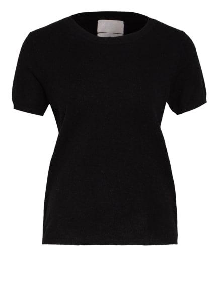 Mrs & HUGS Strickshirt aus Cashmere , Farbe: SCHWARZ (Bild 1)