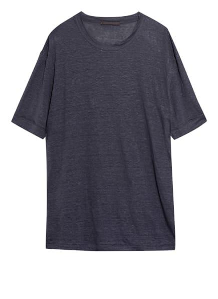 DRYKORN T-Shirt RAPHAEL aus Leinen, Farbe: DUNKELBLAU (Bild 1)