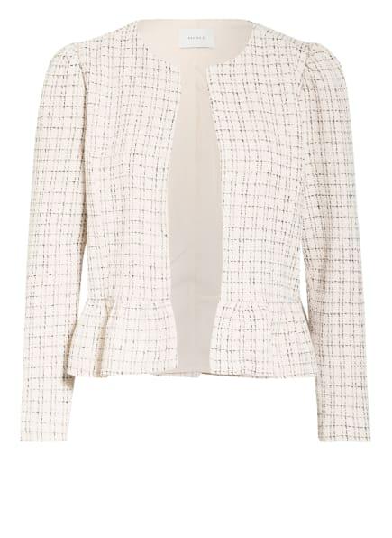 NEO NOIR Tweed-Jacke HARDY mit Rüschenbesatz, Farbe: CREME/ SCHWARZ (Bild 1)
