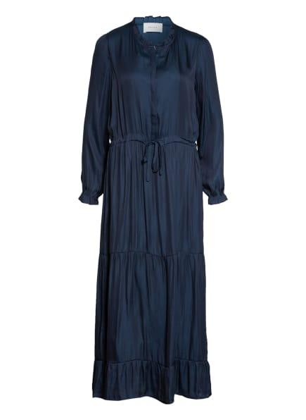 NEO NOIR Kleid SILO mit Rüschenbesatz, Farbe: DUNKELBLAU (Bild 1)