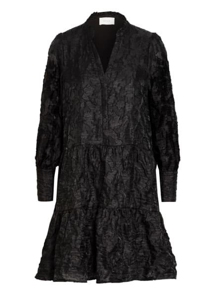 NEO NOIR Kleid FREI mit Rüschenbesatz, Farbe: SCHWARZ (Bild 1)