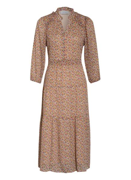 NEO NOIR Kleid HELENA MULTI mit 3/4-Arm , Farbe: ECRU/ FUCHSIA/ HELLORANGE (Bild 1)
