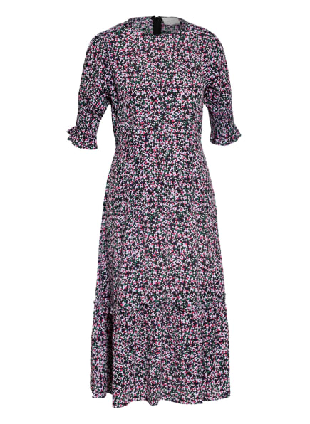 NEO NOIR Kleid MEJSE, Farbe: DUNKELBLAU/ HELLLILA/ GRÜN (Bild 1)